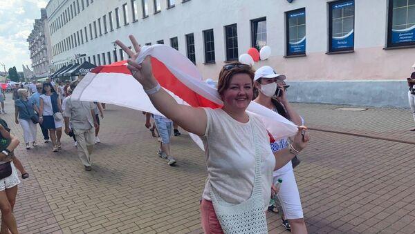 Протестующие в Гродно - Sputnik Беларусь