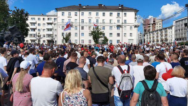 Акция протеста в Витебске - Sputnik Беларусь