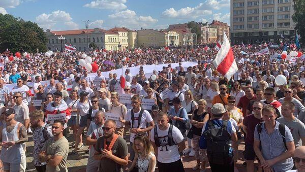 Акция протеста в Гродно - Sputnik Беларусь