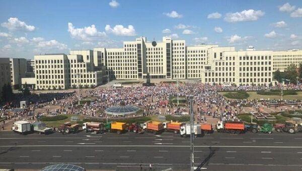 Митинг в поддержку Лукашенко - Sputnik Беларусь