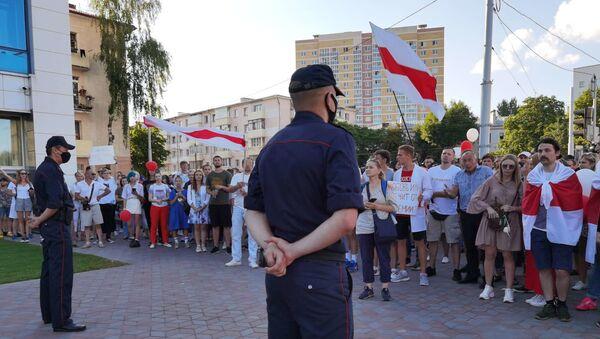 Протестующие в Витебске - Sputnik Беларусь