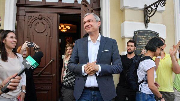 Директор Купаловского театра Павел Латушко - Sputnik Беларусь