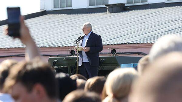 Александр Лукашенко на МЗКТ - Sputnik Беларусь