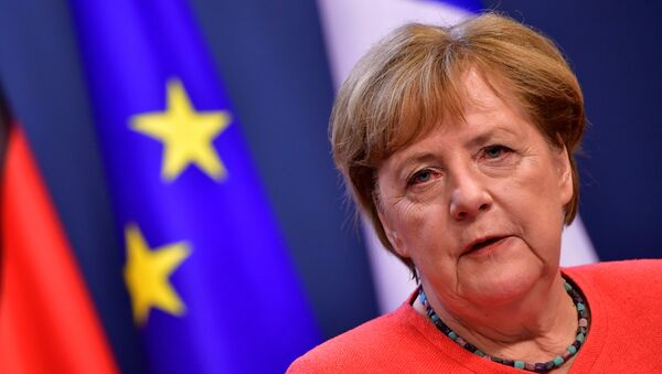 Канцлер Германіі Ангела Меркель - Sputnik Беларусь
