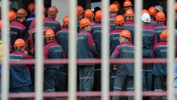 Рабочие Беларуськалия собираются на забастовку - Sputnik Беларусь