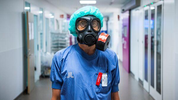 Медики в Швеции во время пандемии коронавируса - Sputnik Беларусь