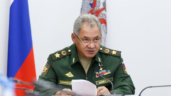 Міністр абароны Расіі Сяргей Шайгу - Sputnik Беларусь