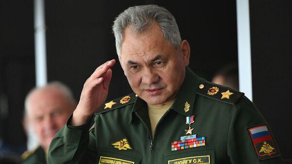 Міністр абароны РФ Сяргей Шайгу - Sputnik Беларусь