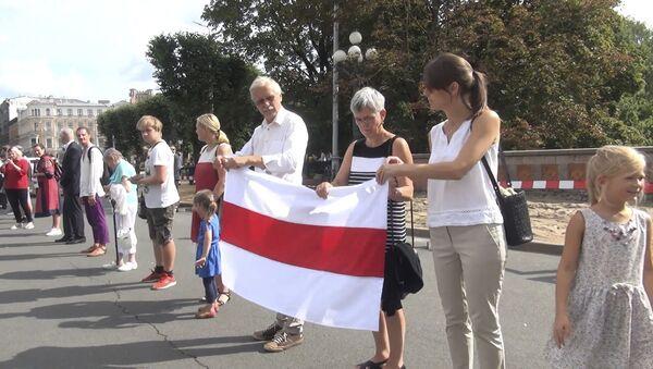 Прэзідэнты краін Балтыі выйшлі на акцыю Шлях свабоды - відэа - Sputnik Беларусь