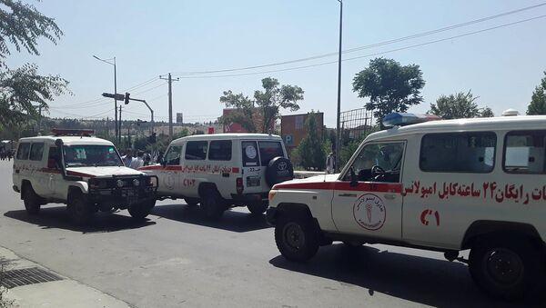 Машины скорой помощи в Афганистане - Sputnik Беларусь