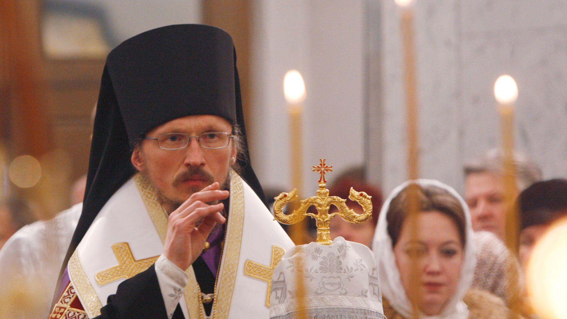 Епископ Борисовский и Марьиногорский Вениамин - Sputnik Беларусь, 1920, 23.09.2021