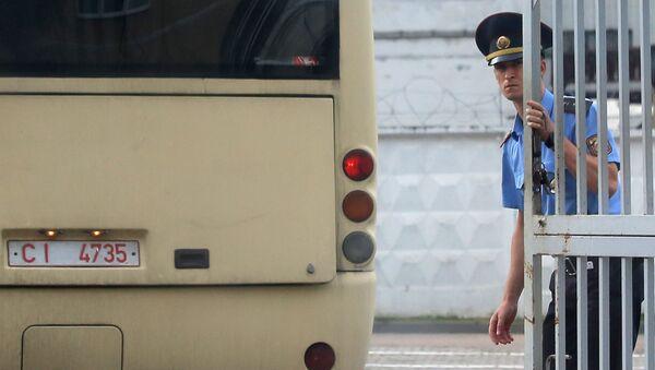 Милиционер в Гродно - Sputnik Беларусь