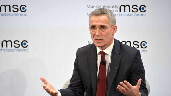 Генеральный секретарь НАТО Йенс Столтенберг - Sputnik Беларусь