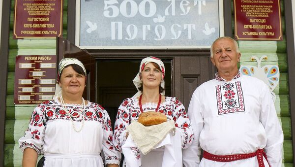 Як святкавалі юбілей самай знакамітай беларускай вёскі – фота - Sputnik Беларусь