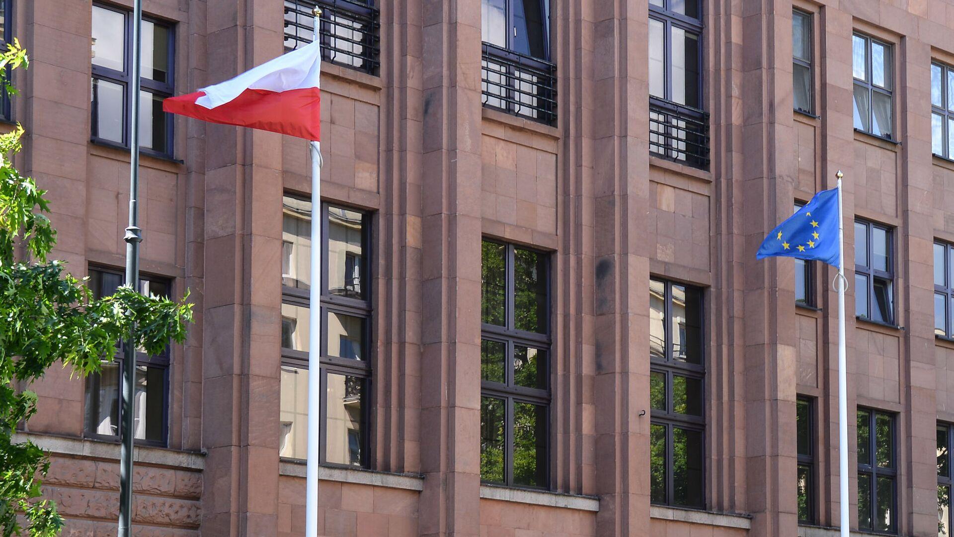 Здание МИД Польши в Варшаве - Sputnik Беларусь, 1920, 14.10.2021