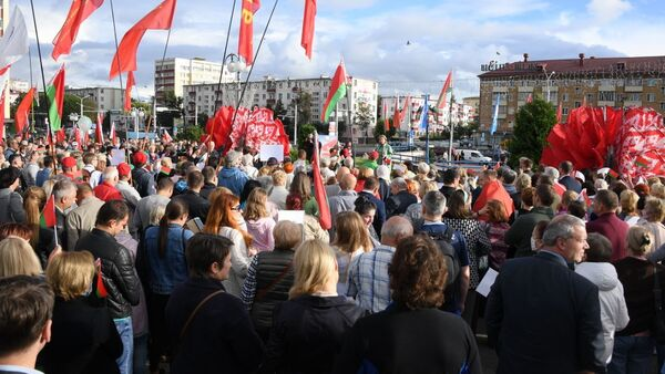 Митинг Женщины за единство в Минске - Sputnik Беларусь