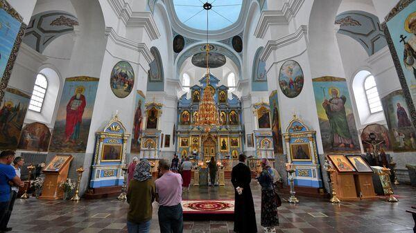 Успенский собор Жировичского монастыря - Sputnik Беларусь