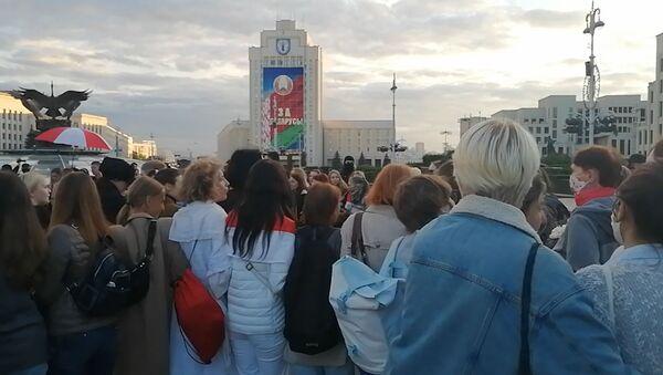 Купалинка и велопробег: сторонники власти и оппозиции собрались в Минске - Sputnik Беларусь