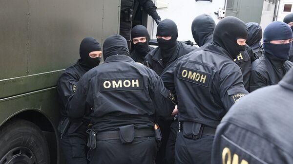 ОМОН в Минске - Sputnik Беларусь