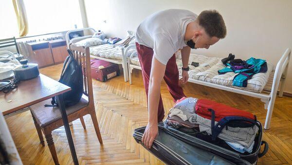 Засяленне студэнтаў у інтэрнат - Sputnik Беларусь