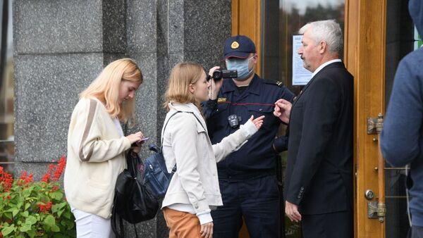 Задержание студентов в Минске - Sputnik Беларусь