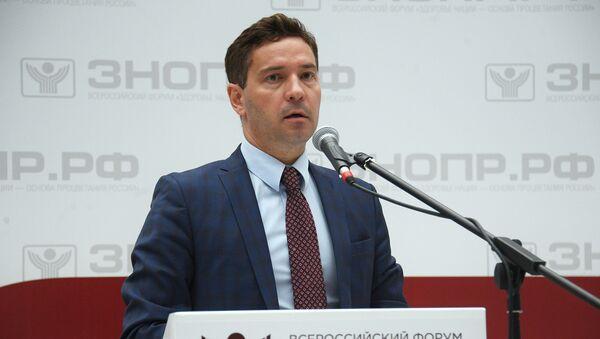 Міністр спорту Татарстана Уладзімір Лявонаў - Sputnik Беларусь