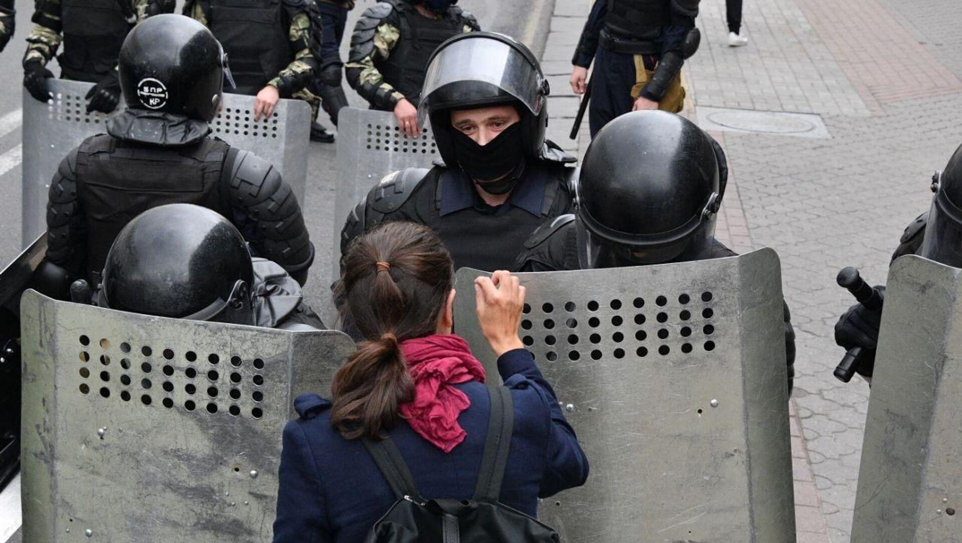 Акция протеста в Минске - Sputnik Беларусь, 1920, 28.03.2021