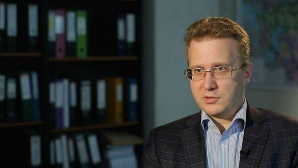 Эксперт расійскага Фонду нацыянальнай энергетычнай бяспекі Станіслаў Мітраховіч - Sputnik Беларусь