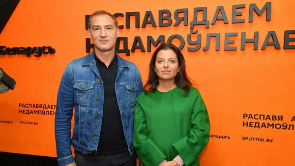 Было неожиданно: Маргарита Симоньян и Роман Бабаян о беседе с Лукашенко - Sputnik Беларусь