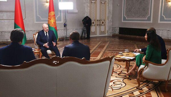 Вялікае інтэрв'ю Лукашэнкі расійскім журналістам - Sputnik Беларусь
