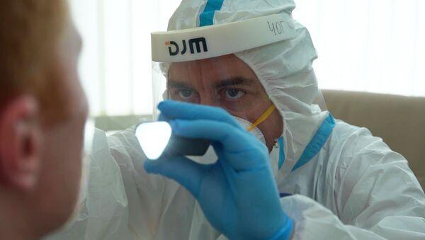 Выпіска добраахвотнікаў, якія выпрабавалі вакцыну ад COVID-19 - Sputnik Беларусь