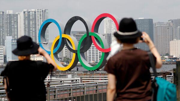 Кольца Олимпиады в Токио - Sputnik Беларусь
