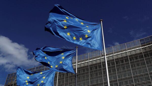 Флаги Евросоюза - Sputnik Беларусь