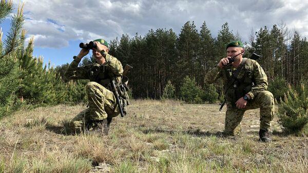 Украинские пограничники - Sputnik Беларусь