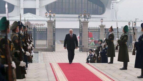 Перед началом церемонии инаугурации в 2015 году - Sputnik Беларусь