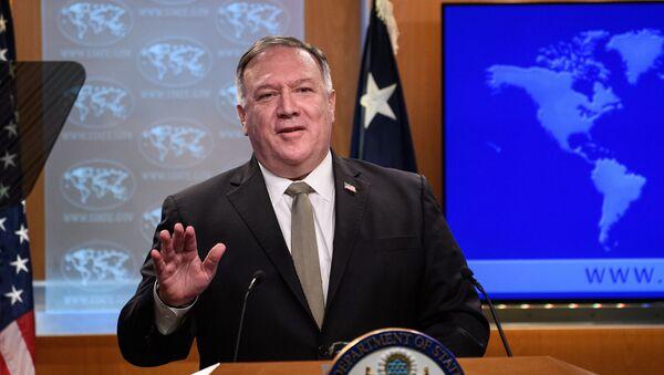 Госсекретарь США Майк Помпео - Sputnik Беларусь