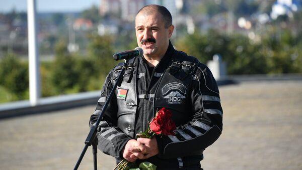 Виктор Лукашенко поблагодарил всех участников мотопробега - Sputnik Беларусь