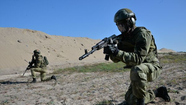 Десантники во время учений Славянское братство-2020 в Брестской области - Sputnik Беларусь