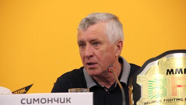 Заместитель председателя Белорусской федерации кикбоксинга и тайског бокса Анатолий Симончик - Sputnik Беларусь