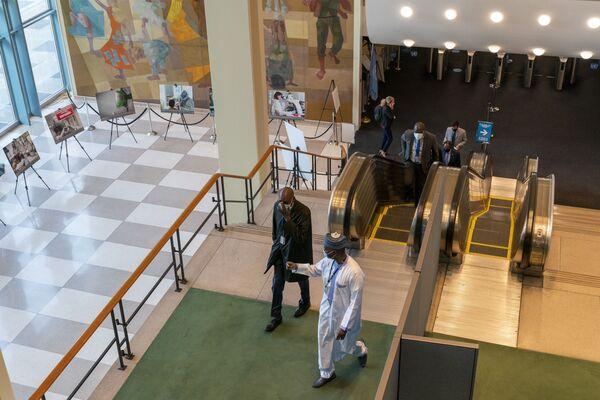 Делегаты прибывают на 75-ю сессию Генеральной Ассамблеи ООН - Sputnik Беларусь