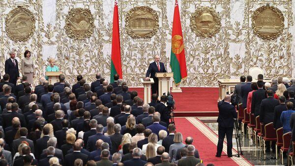 Вступление А. Лукашенко в должность президента Беларуси - Sputnik Беларусь