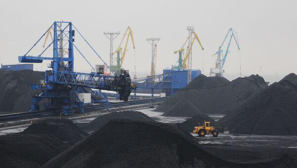 Праца марскога гандлёвага порта Усць-Луга - Sputnik Беларусь