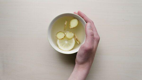 Чай с лимоном и имбирем - Sputnik Беларусь
