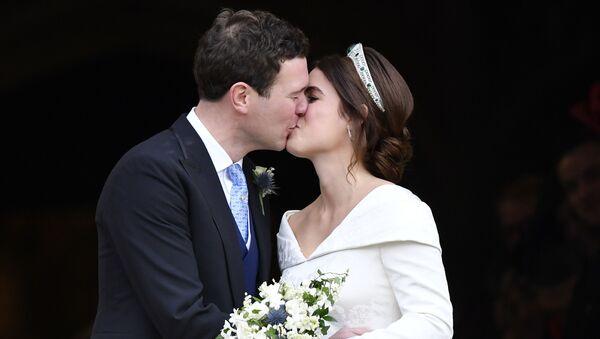 Принцесса Евгения и ее муж Джек Бруксбэнк  - Sputnik Беларусь