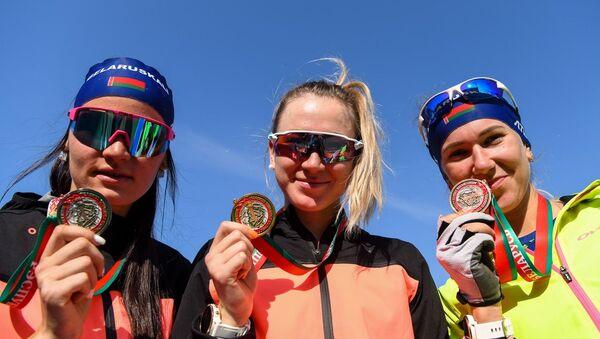 Алимбекова выиграла спринт на чемпионате страны по летнему биатлону - Sputnik Беларусь
