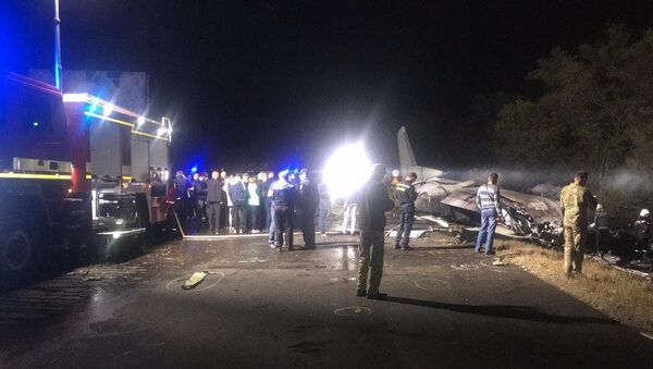 Место катастрофы Ан-26 в Харьковской области - Sputnik Беларусь