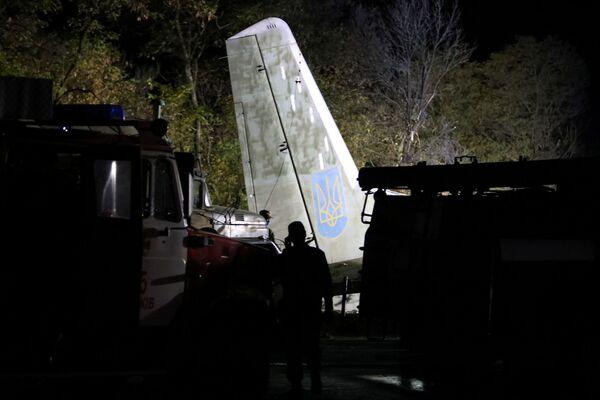 Военно-транспортный самолет Ан-26 потерпел крушение в Харьковской области Украины. - Sputnik Беларусь