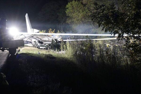 По информации командования Воздушных сил Украины, самолету было выдано разрешение на два года полетов. - Sputnik Беларусь