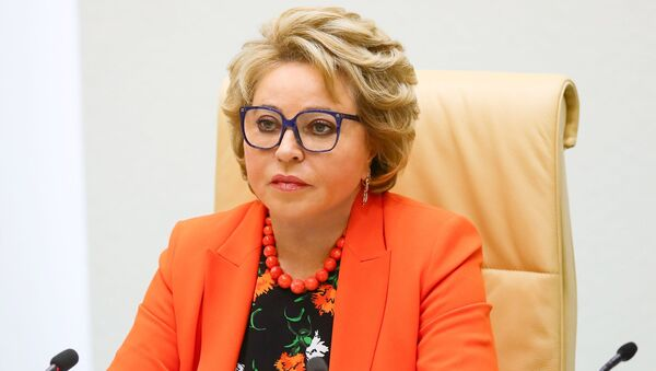 Старшыня Савета Федэрацыі Валянціна Мацвіенка - Sputnik Беларусь