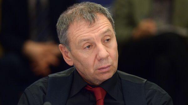Палітолаг, член Грамадскай палаты РФ Сяргей Маркаў - Sputnik Беларусь